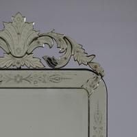 Large Italian Venetian Glass Overmantle Mirror (4 of 8)