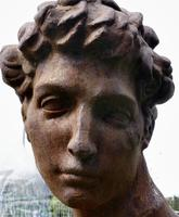 Weathered Cast Iron Statue of Michelangelo's David (8 of 8)