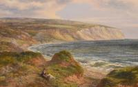Fine Oil Painting of the White Cliffs of Dover (4 of 7)