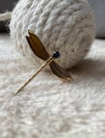 9ct Gold Dragonfly Brooch (2 of 4)