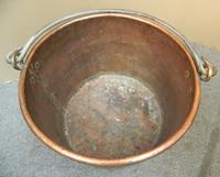 Large Copper Pot / Log Bin (5 of 6)
