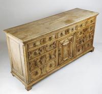 Geometric Oak Dresser Base (10 of 14)