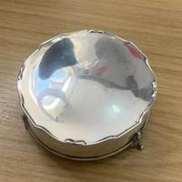 1913 Antique Sterling Silver Mappin & Webb Trinket Box (2 of 5)