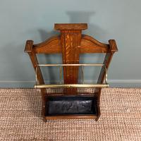 Superb Victorian Oak Antique Stick Stand / Umbrella Stand (5 of 5)