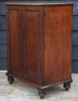 Unusual Georgian Small Proportioned Mahogany Cabinet / Cupboard with Interior Drawers (9 of 12)