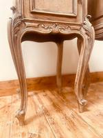 French Antique Bedside Tables / Marble Bedside Cabinets / Louis XV Nightstands (8 of 10)