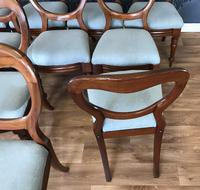 Set of 10 Victorian Balloon Back Chairs (5 of 10)