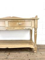Large Rustic Pine Sideboard with Drawers (4 of 10)