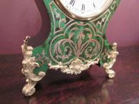 Antique French Boulle 8 Day Mantel Clock (6 of 8)