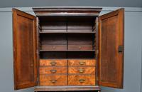 Early 18th Century Walnut Secretaire Writing Cabinet (5 of 31)