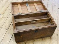 19th Century Oak Tool Chest (7 of 16)