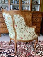French Walnut Tub Chair (4 of 15)