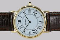 Vintage Tiffany & Co 14ct Solid Gold 31mm Slim Thin Men's / Ladies Quartz Watch with box (15 of 15)