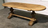 Large Oak Farmhouse Table with Extensions (4 of 30)