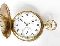Antique Syren Hunter Pocket Watch (2 of 6)