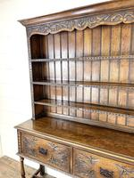 Decorative Antique Carved Oak Dresser (7 of 10)
