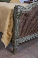 Magnificent French Caned Kings Size Marriage Bed (2 of 13)