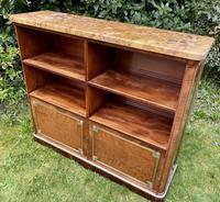 French Plum Pudding Mahogany Bookcase (2 of 8)