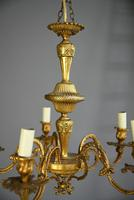 French Gilt Chandelier (3 of 12)