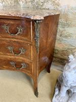 French 19th Century Kingwood Commode with Marble Top (3 of 6)