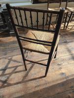 Four Faux Bamboo Chairs (3 of 5)