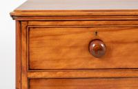 Victorian Satin Birch Chest of Drawers (4 of 9)