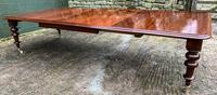 Very Large Victorian Mahogany Extending Dining Table (5 of 16)