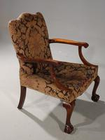 Substantial Early 20th Century  Gainsborough Style Mahogany Framed Armchair (2 of 6)