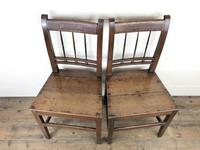 Pair of 19th Century Welsh Oak Farmhouse Chairs (2 of 11)