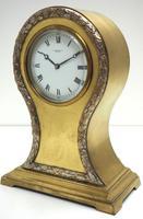 Impressive Ormolu Edwardian Balloon Timepiece Mantel Clock by Preston's Bolton (3 of 11)