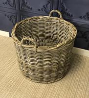 Wicker Log Basket (4 of 4)