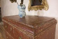 18th Century Gustavian Original Painted Commode - Red (4 of 15)