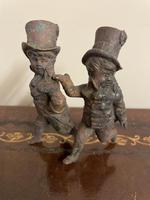 Victorian Bronze Top Hat Boy Figures (2 of 6)