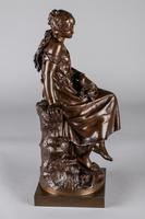 Stunning 19th Century French Bronze Sculpture by Auguste Moreau (6 of 10)