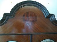 Double Fronted Edwardian Glazed Display Cabinet (6 of 6)