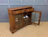 Burr Walnut Bookcase or Side Cabinet (13 of 18)