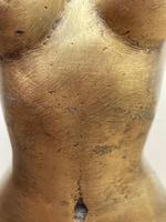 """Art Deco French Cold Painted Gilt Bronze Posing """"Mystery Nude Lady"""" c.1930 (13 of 41)"""