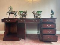 Large Georgian Style Double Sided Partners Desk (24 of 51)
