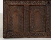 Wonderful Carved Oak Coffer (10 of 10)