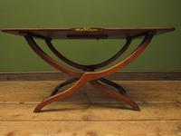 Antique Georgian Coaching Table, Regency Antique Occasional Fold Away Table (11 of 20)