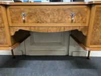 Antique Queen Anne Burr Walnut Dressing Table (14 of 16)