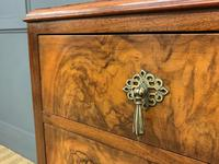 Burr Walnut Chest of Drawers (7 of 13)