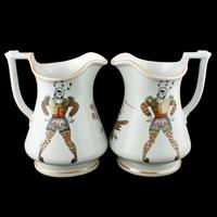 Pair of Elsmore & Forster Puzzle Jugs (3 of 9)
