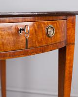 Sheraton Period Satinwood Pembroke Table (2 of 7)
