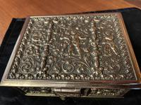 Erhard & Sohne Brass Table Casket (8 of 8)