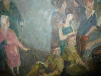 Scottish 1940s Wartime Oil Painting (3 of 7)