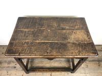 18th Century Oak Side Table (10 of 14)