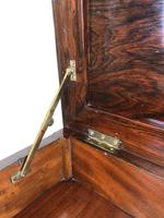 Antique Victorian Rosewood Piano Stool (2 of 14)