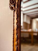 Antique Gold Mirror / Gilt Mirror / Large Mirror (3 of 9)