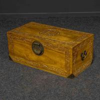 Mid 20th Century Camphor Wood Trunk (2 of 8)